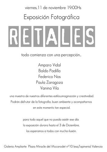 Exposicion Fotográfica Retales by Vanina Vila {Photography}