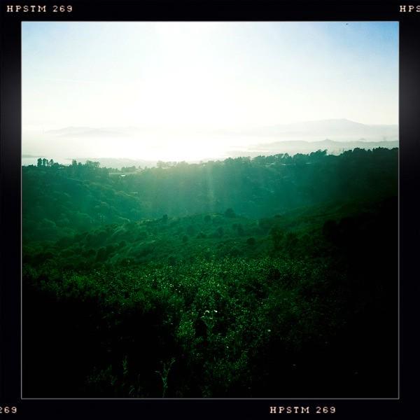 El Cerrito hills