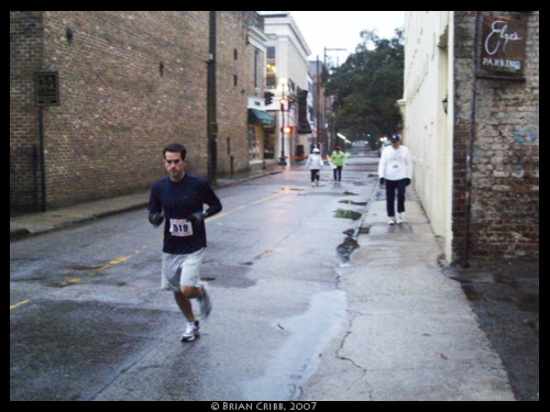 Wet Day, Tough Runners