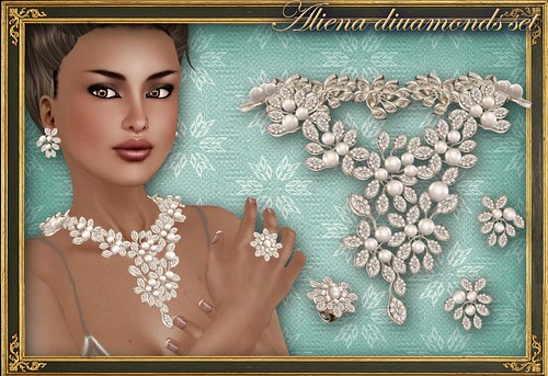ALIENA diamonds set