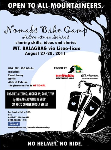 Nomads Bike Camp Adventure Series