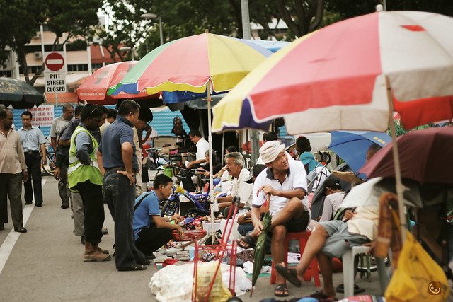 Sungei road flea market