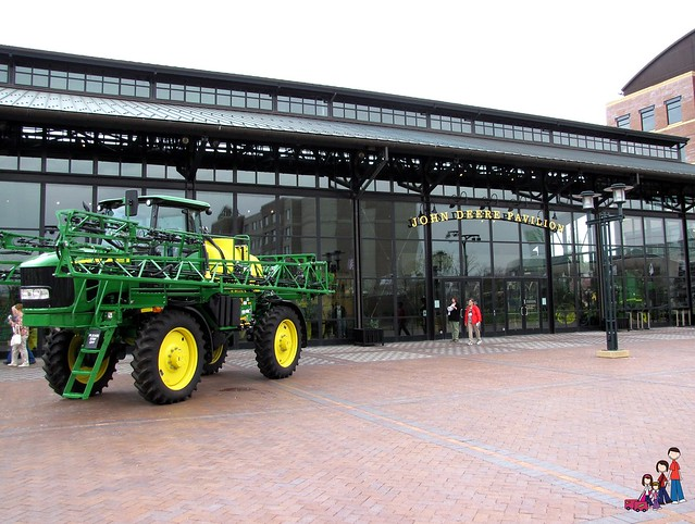 The John Deere Pavilion in Moline, Illinois
