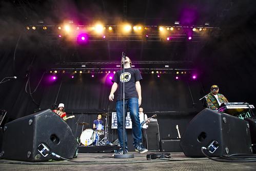 Fjorden Baby! på Øyafestivalen 2011