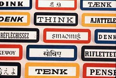 THINK was a one-word slogan developed by IBM f...