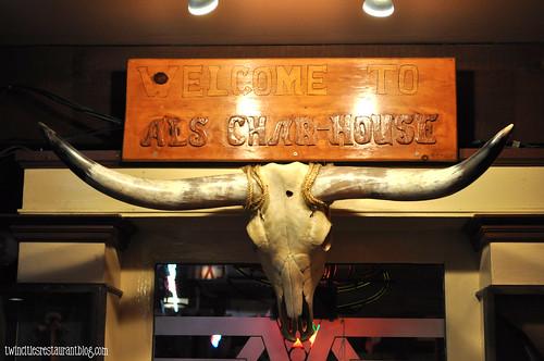 Longhorn at Al's Char House ~ La Grange, IL