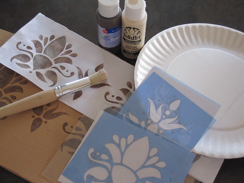 Stencil Project Supplies