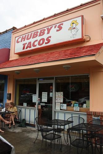 Chubby's taco