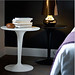 Tip Top Table Black & White - Furniture hire London