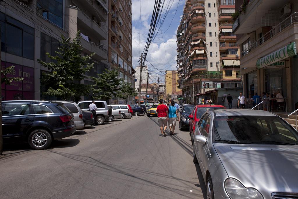 Mean streets of Tirana