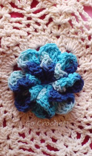 Blue Flor Cone
