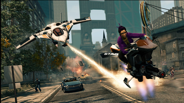 Saints Row: The Third - Cat and mouse