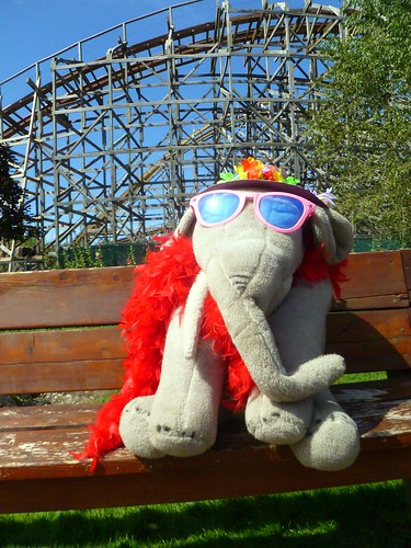 Ms Ella at Silverwood Theme Park