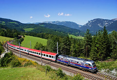 Eins,Zwei,Polizei (tau280) Tags: sky color train sterreich niceshot engine rail railway trains locomotive taurus bahn polizei felh bb ausztria intercity reklm lok eichberg obb werbe 1116 vonat sterreichische bahnen vast mozdony landsapce bundesbahnen vasutak rh1116 vastvonal ic reklmmozdony sememringbahn