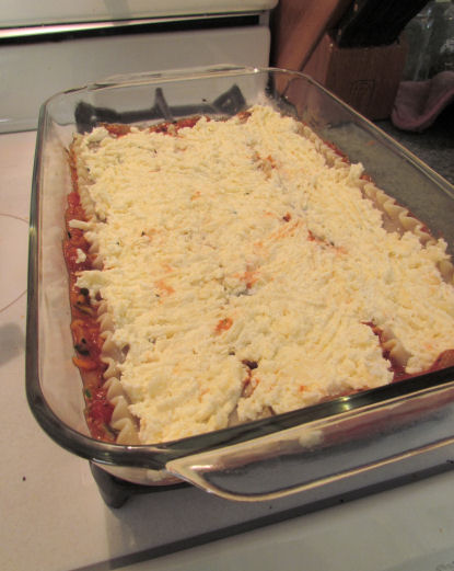 Lasagna Cheese Layer