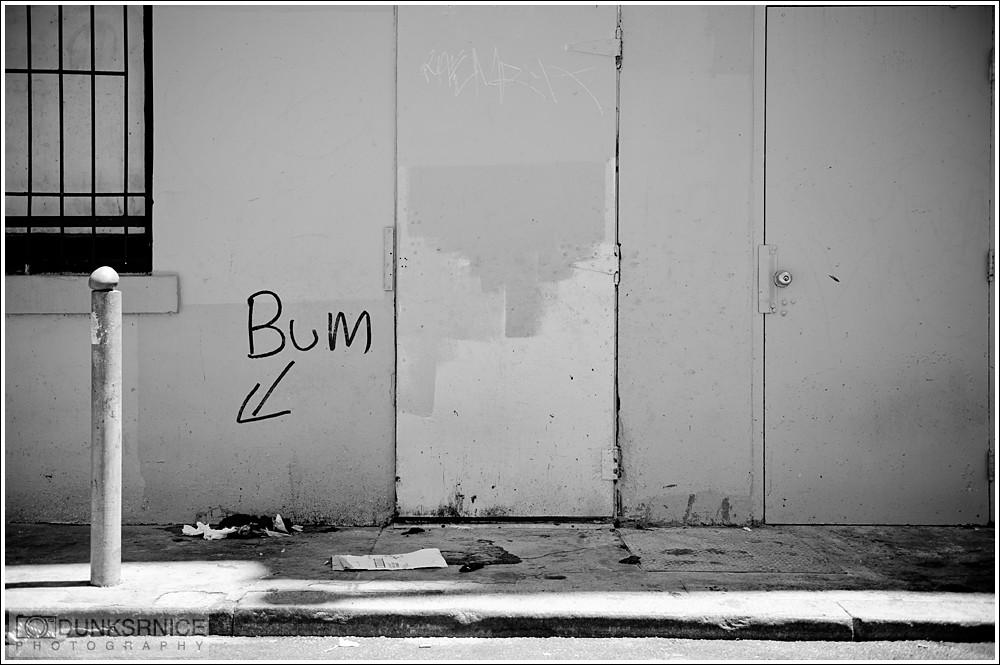 Bum B&W.