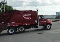 garbage truck by Ruin Raider, on Flickr