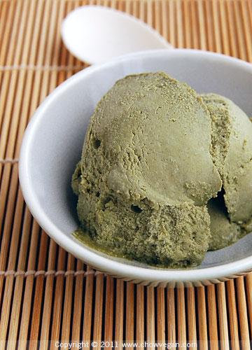 Matcha Green Tea Ice Kream