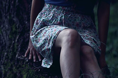 Don't give me a promise... (Zdravka Kokalova) Tags: blue girl zeiss forest canon twins legs skin dream jena mc fairy carl tale sonnar 50d beaudiful zdravka 180mm28 zimento kokalova