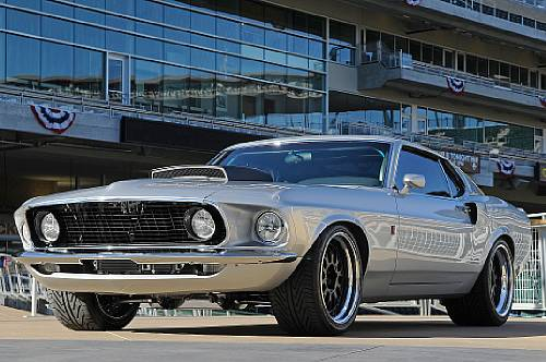 1969 Ford Mustang 'SportsRoof' Fastback Coupe