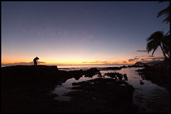 Photographer's Sunset (Mr. iNfEk) Tags: sunset sky silhouette night clouds canon hawaii mk2 5d mkii markii mark2 1635mm 1635l