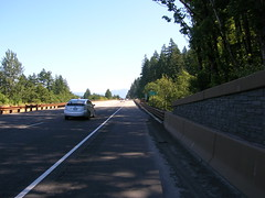 The i84 repaving is done, and one of the formerly narrow bridges is now much much wider