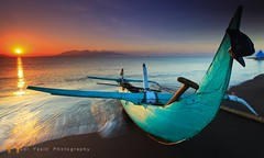 Good Morning Banyuwangi (yadiyasin) Tags: sea bali sunrise indonesia java boat fishermen eastjava jawatimur banyuwangi yadiyasinfotografernet yadiyasinphotography