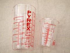 パイレックス 計量カップ 500ml,200ml