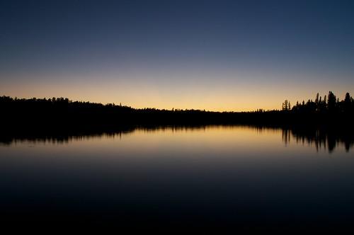 Red Rock Lake Sunset 1