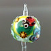Single Bead, Ladybug Colorful