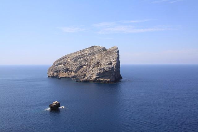 Seaview from near the Grotta di Nettuno...
