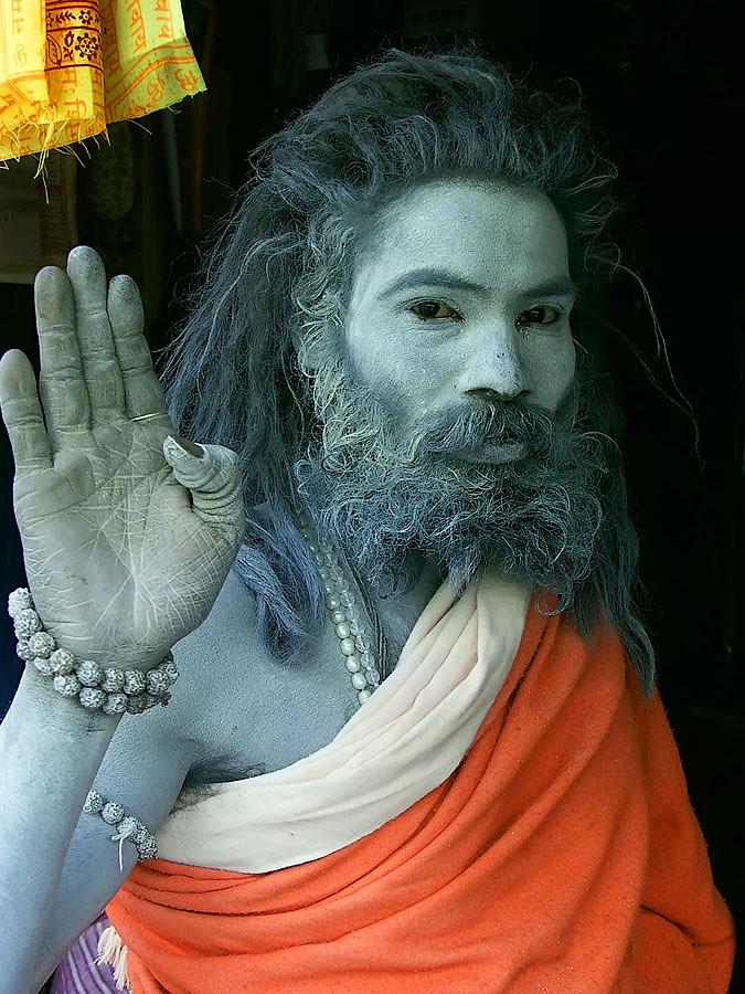 Садху-нищий в Кедарнатхе © Kartzon Dream - авторские путешествия, авторские туры в Индию, тревел фото, тревел видео, фототуры