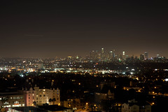 LA Skyline (JeezyDeezy) Tags: night la losangeles downtown cityscape hollywood downtownla laskyline