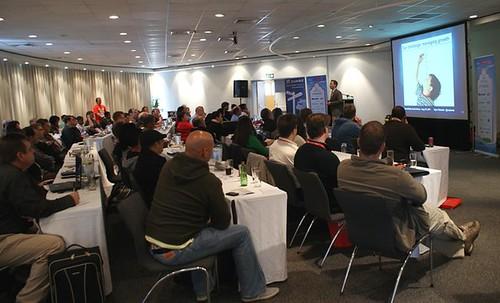 Ryan Ozimek delivers the keynote at JoomlaDay South Africa