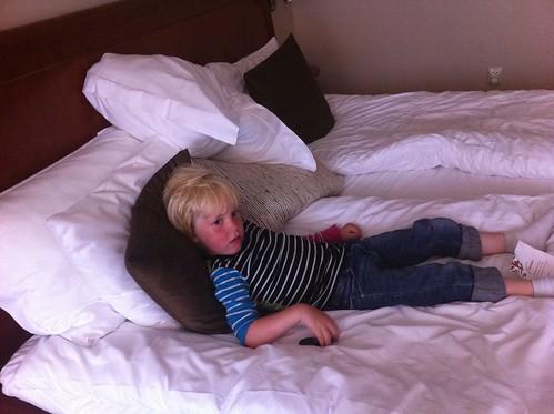 Chill på hotell