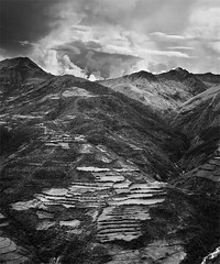 Peruvian Andes (Chad Simcox) Tags: mountains peru southamerica river landscape cusco farming terraces andes elevation mollepata mountainlodgesofperu greenlivingproject