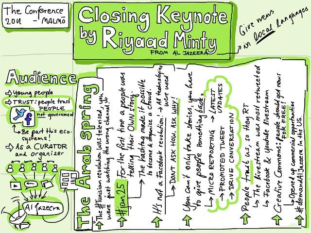 Closing Keynote by Riyaad Minty from Al Jazeera