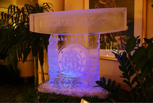 Nickelback Dark Horse Tour 2 ice sculpture
