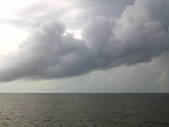 Calm before the storm (~jeannie~) Tags: nc hurricane albemarle albemarlesound hurricaneirene 82611 1stbands