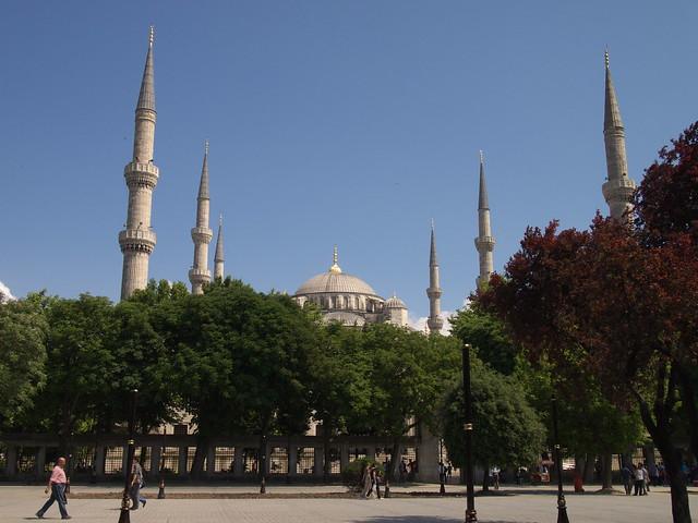 藍色清真寺Sultanahmet Camii