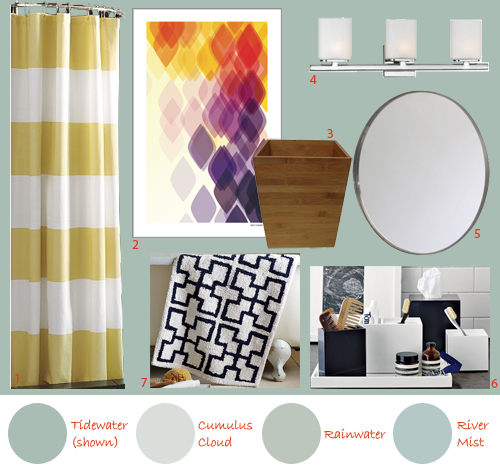 Parents' Second Full Bathroom Design Board