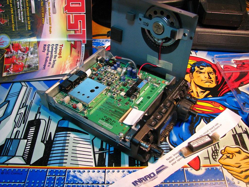 Ham Radio Filter Installation (circuit board prior to installation)