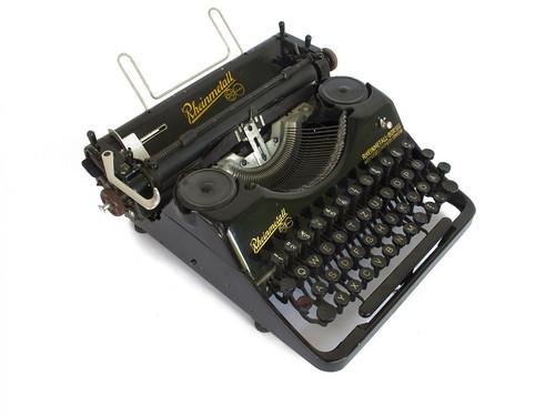 Rheinmetall portable typewriter
