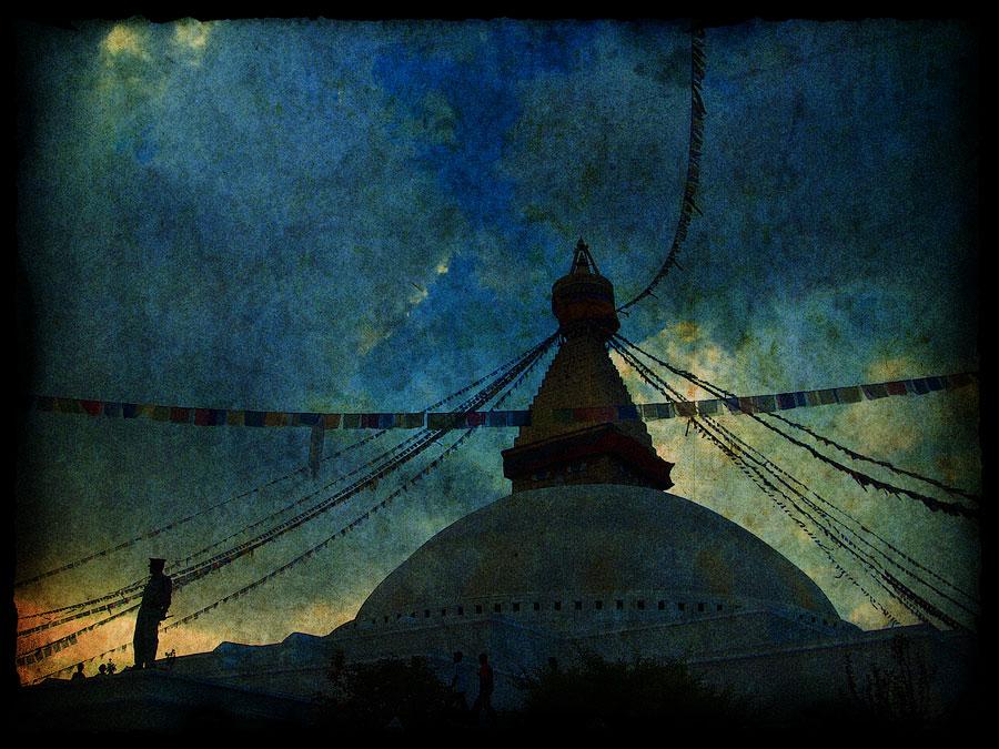 Боднатх. Непал 2008 - Катманду, Пашупатинатх, Покхара, Боднатх, Горкха © Kartzon Dream - авторские путешествия