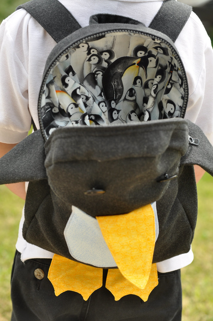 Penguin Backpack Lining