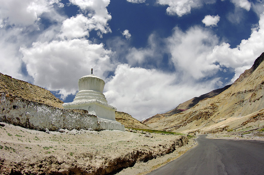 Мототрип по Гималаям, Индия 2009 - 3 - Панг-Лех