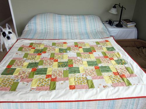 My first quilt_06