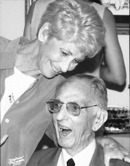Mr. and Mrs. Koch in August 2001