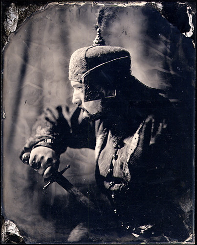 The soldier (ambrotype) by sXegreen