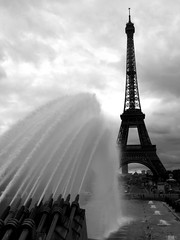 Eiffel Tower (Adam Hampton-Matthews) Tags: summer holiday france art water fountain architecture canon steel eiffeltower engineering structure exposition champdemars cannon publicart engineer worldsfair holidayphotos tallestbuilding gustaveeiffel theironlady ladamedefer stephensauvestre steelarchitecture steelstrucuture